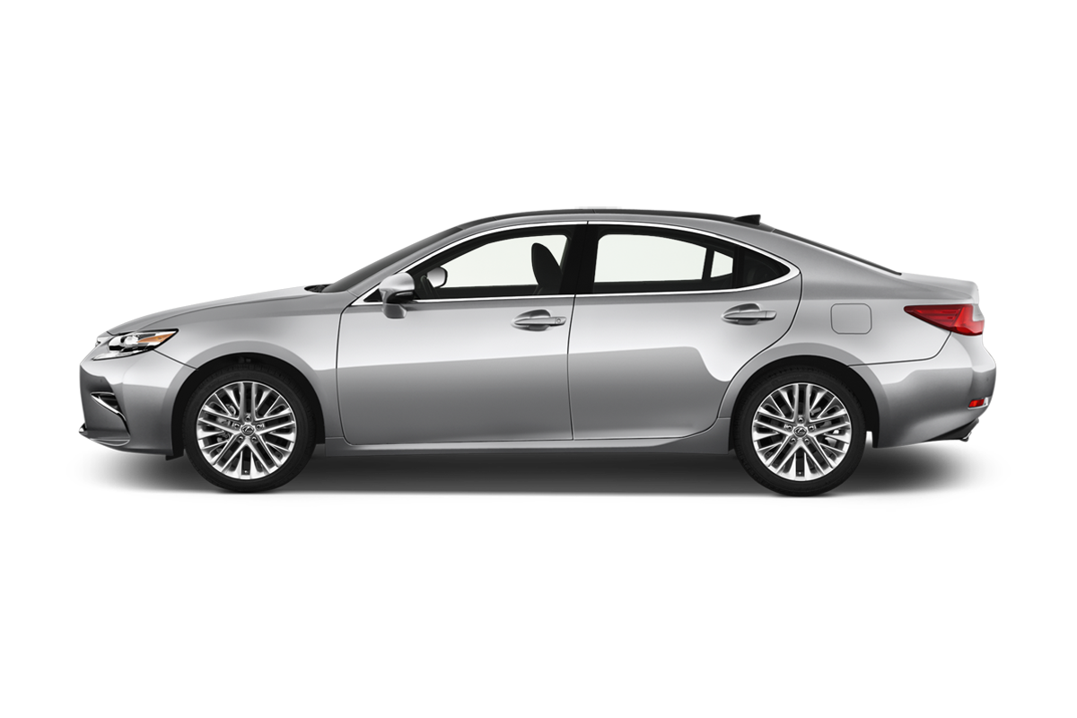 Lexus ES side view