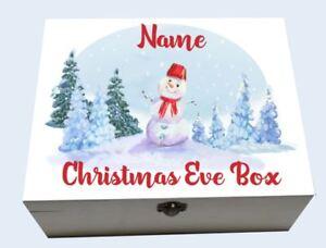 digital print sticker DIY Personalised Christmas Box Sticker Christmas Eve Box