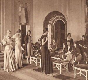 Héliogravure Atelier de Haute Couture Paris - France - Type: Gravure Thme: Art Epoque: Années Folles - France
