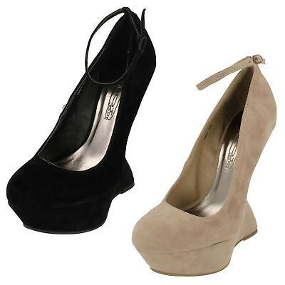 Ladies Spot On Ghost Heels