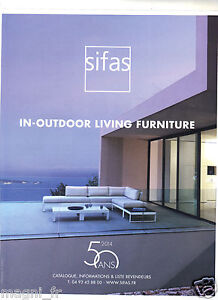 Publicite-2014-SIFAS-In-outdoor-living-furniture