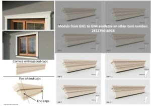 Details about Exterior Coving Cornice Outside Above the Window Mouldings  Home Decor >Quality<