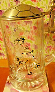 foot-ball-tankard-fine-pewter-95-tin-1-2-pint-perfect-condition