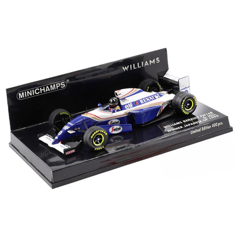 1994 Damon Hill Williams FW16B Suzuka -  Minichamps
