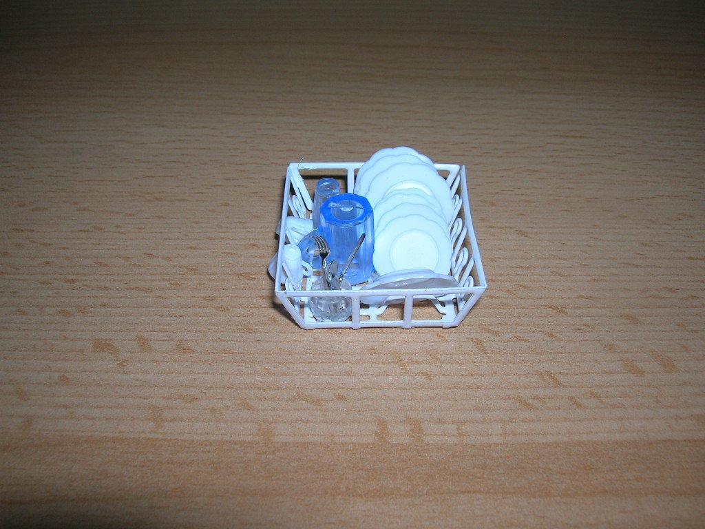 Dollhouse Miniatures 1:12 Scale Spoon Rack #CB2706