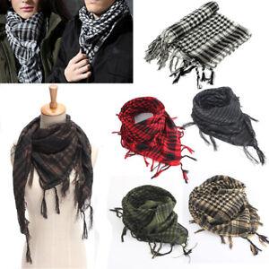 Sciarpe-Militare-sciarpa-Tattico-Keffiyeh-Uomo-Donna-Scarf-Foulard-Kefiah-Araba