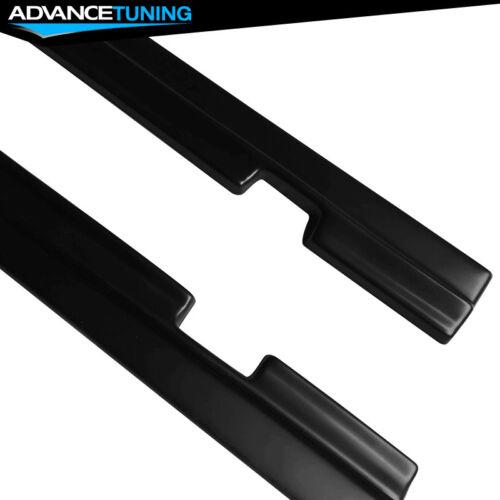 For 15-18 Dodge Challenger SXT Style Side Skirts Black Primer PP