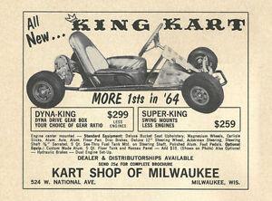 Details about Vintage 1964 King Kart Dyna King & Super King Go-Kart Ad