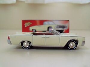 Image Is Loading JOHNNY LIGHTNING 60S SIZZLE 1962 LINCOLN CONTINENTAL CONVERTIBLE