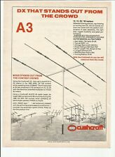 Cushcraft A-3s Three Element Beam Antenna for 10 15 & 20 Meters for