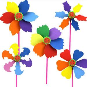EVA-Windmill-DIY-Cartoon-Handicrafts-Toys-For-Children-Handmade-Pinwheel-VU