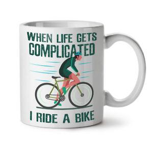 Complicated Life NEW White Tea Coffee Mug 11 oz   Wellcoda