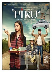 Piku 2 Amitabh Bachan Bollywood Movie Posters Classic Indian Films