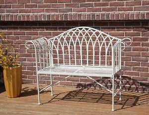 Super Details About Westwood 2 Seater Garden Bench Chair Metal Ornate Vintage Patio Outdoor Mgb03 Evergreenethics Interior Chair Design Evergreenethicsorg
