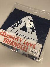 PALACE SKATEBOARDS LOVE TRIANGLE T SHIRT BLUE MEDIUM M WINTER