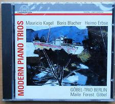 Modern Piano Trios - Göbel-Trio Berlin - Kagel, Blacher, Erbse - CD neu & OVP