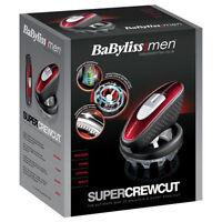 BaByliss 7565U For Men Super Crew Cut Hair Clipper & Trimmer  Lithium Powered