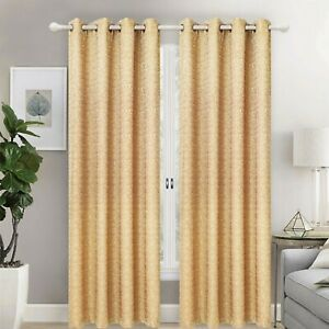 Grommet Top Window Curtain Panel Drape