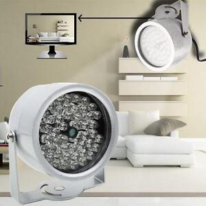 48-DEL-IR-vision-de-nuit-infrarouge-Illuminateur-Lampe-20-m-pour-IP-CCTV-Camera-PC-MZ