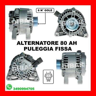 ALTERNATORE 80AH REVISIONATO MAZDA 2 1.4 CD DA 2003 3S6T-AA 3S6T10300AA-DRA0178
