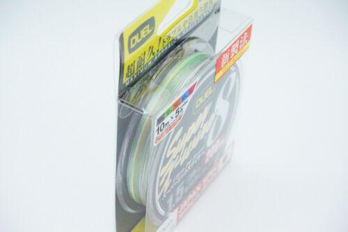 Duel Super X-Wire X 8 200m Mehrfarbig Ultra Pe Linie 8 Geflochtene Select Lb