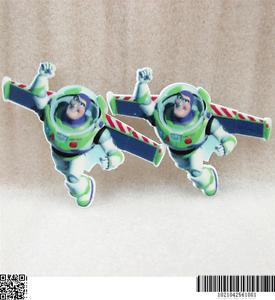 5 X 55MM nuevo Buzz Lightyear Toy Story láser de corte de placas REVERSO PLANO RESINA DIADEMA