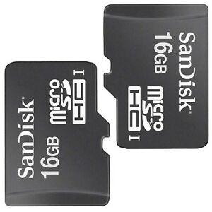 2-Pack-SanDisk-Class-4-16GB-MicroSD-Micro-SD-SDHC-TF-Flash-Memory-Card-16-GB-G
