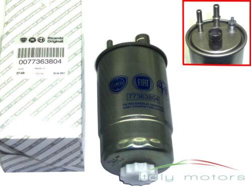 Fiat Grande Punto EVO 1,3 D Mjet original Kraftstofffilter Dieselfilter 77363804