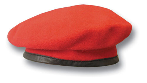WOOL 1 NEW ROYAL MILITARY POLICE RMP ISSUE BERET 19002 RED