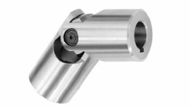Aluminum A2017 Bore Diameters 9.525 mm and 1 mm Set Screw Type NBK MJC-55-RD-9.525-1 Jaw Flexible Coupling