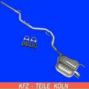 Opel-Vectra-C-1-9-CDTI-Rear-Muffler-Exhaust-Pipe-System-Assembly-Kit