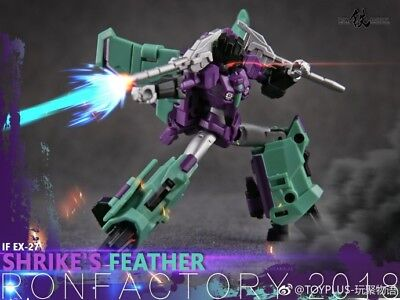 New Iron Factory Transformers IF EX-27 Shrike/'s Feather In Stock