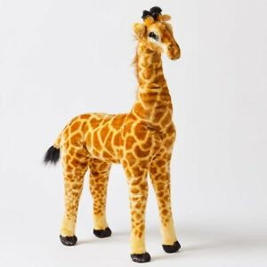 Jiggle & Giggle Animal Large Standing Giraffe Kids Plush Toy