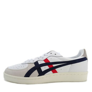 7fecb29d3d5df Asics Onitsuka Tiger GSM  D5K2Y-100  Men Casual Shoes White Navy-Red ...