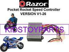 NOS Razor PR200 POCKET ROCKET V1-26 (Version 1-26) ESC Only (SPEED CONTROLLER)
