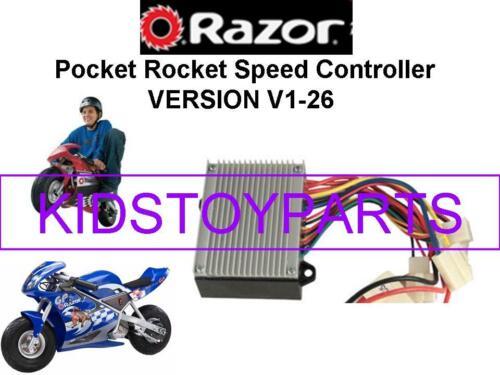 ESC Only SPEED CONTROLLER NOS Razor PR200 POCKET ROCKET V1-26 Version 1-26
