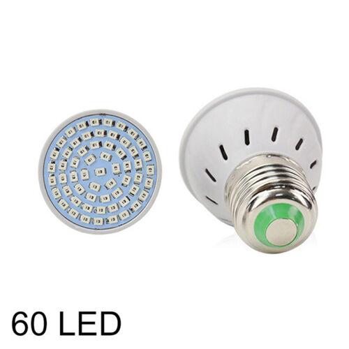 48//60//80 220V LED Grow Light E27 Lamp Bulb for Plant Hydroponic Full Spectr bDM0