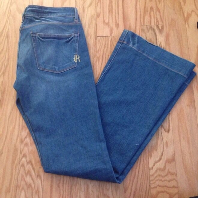 RICH & SKINNY bluee Flare Jeans Size 27