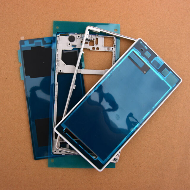 New Full Housing Cover Case Replacement Parts For Sony Xperia Z1 L39h White