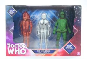 DOCTOR-WHO-set-THE-MONSTERS-6-034-action-figure-ZYGON-CYBERMAN-ICE-WARRIOR-toys-NEW