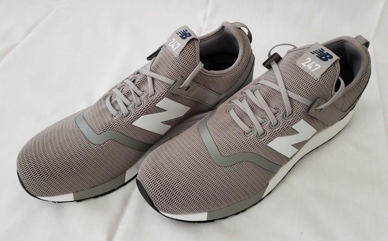 Mens Sz 11.5 Steel Pigment New Balance 247 Decon Revlite Running shoes MRL247DF