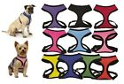 Anti Pull Breathable Mesh NO CHOKE Dog Harness Selections - 10 Colors & 5 Sizes