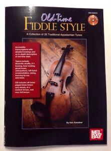 Old-Time-Fiddle-Style-Book-CD-Set-Appalachian-by-Ken-Kolodner-2010-Paperback