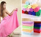 Women Absorbent Microfiber Beach Bath Towels Washcloth 70*140cm Swimwear Towel