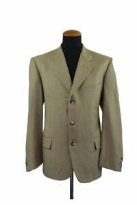 Vittorio-Piacentini-Loro-Piana-Sakko-Gr-52-Wolle-Beige-Blazer-42R-Jacket-B43