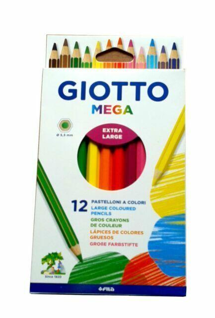 Giotto Supermina 18 HB e 2 2B Matite Colori Assorti 236300