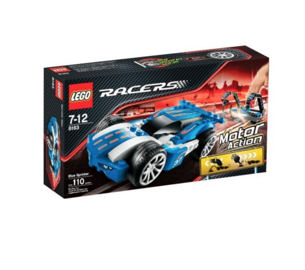 Lego Racers Power Bleu SPRINTER (8163)