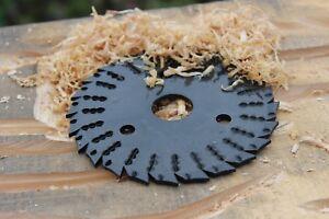 ROTAREX-R4-125-mm-Raspelscheibe-Trennscheibe-Flexscheibe-Flex-Holzkunst-Scheibe