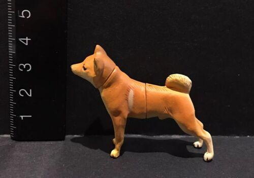 Kaiyodo Furuta Choco Q Pet Animal 1 Shiba Inu Brown Dog Figure A
