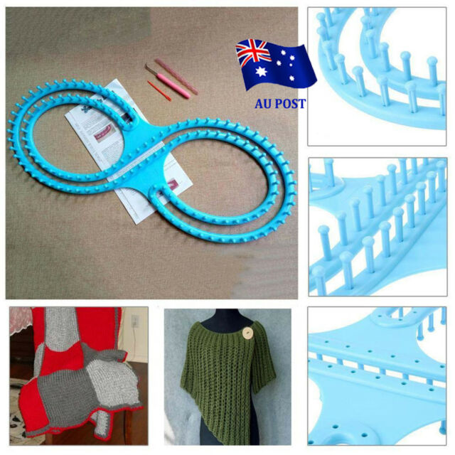 Round Looms Knitting Knitter Ring Set Craft Tool Kit For Sock Scarf Hat Sweater